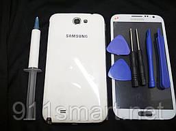 Корпус Samsung Galaxy Note 2 N7100 белый