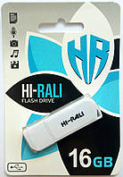 Флешка Hi-Rali 16GB Taga series, белая