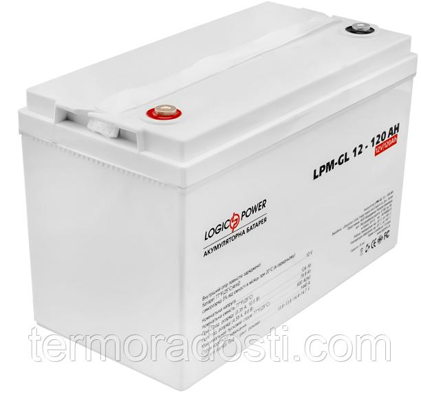 Аккумулятор гелевый Logic-Power LPM - GL 12 - 120 AH