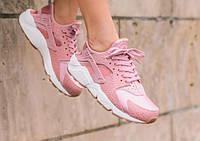 "Кроссовки женские Nike WMNS Air Huarache Run Premium Pink ""Розовые""  р. 37-38, фото 1"