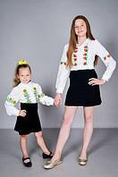 Детские вышиванки,рубашки,блузки для мальчика и девочки