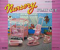 Мебель для Барби 9409 детская комната