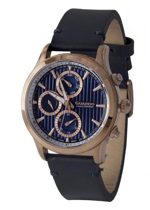 Мужские наручные часы Guardo S02039 RgBlBl