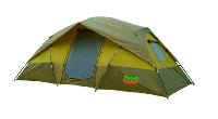 Палатка туристическая четырехместная Green Camp 1100