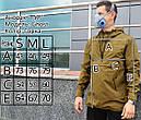 Анорак мужской хаки Гост (Ghost) от бренда ТУР размер S, M, L, фото 2