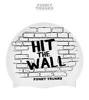 Силиконовая шапочка для плавания Funky Trunks Hit The Wall