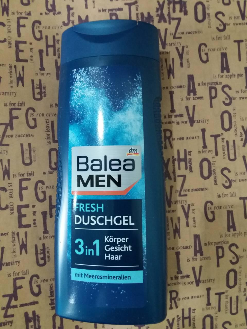 Мужской гель для душа Балеа / Balea men DuschGel