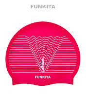 Силиконовая шапочка для плавания Funkita Swim Lines