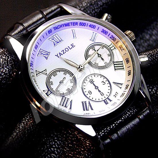 Мужские кварцевые часы Yazole 317