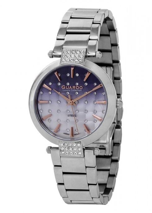 Жіночі наручні годинники Guardo S02040(m) SBl