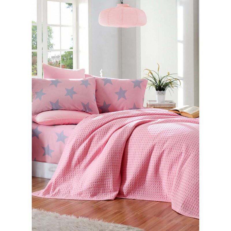 Постельное белье Eponj Home Paint Pike - BigStar pembe розовый евро