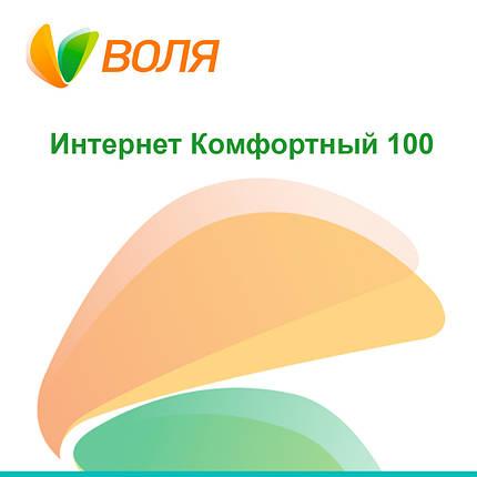 """Тарифный план """"Интернет Комфортный 100"""", фото 2"""