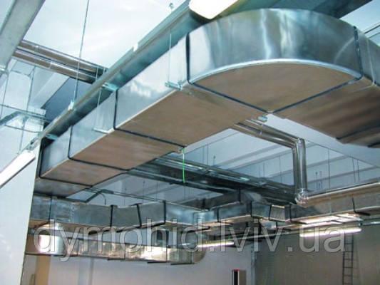 Проектування та виготовлення вентиляційних систем з нержавіючої сталі