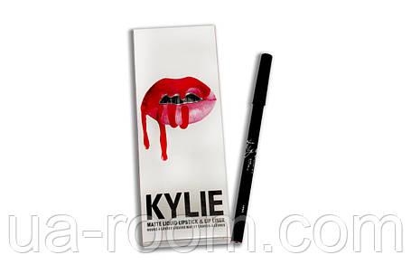Набор помада + карандаш Kylie Lipstick & Lip Liner (8 шт), фото 2