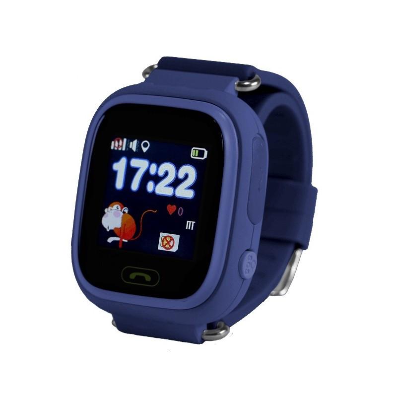 Детские смарт-часы BABYGPS Q90S Original Темно-Синие (BABYGPSQ90SBL Dark Blue)
