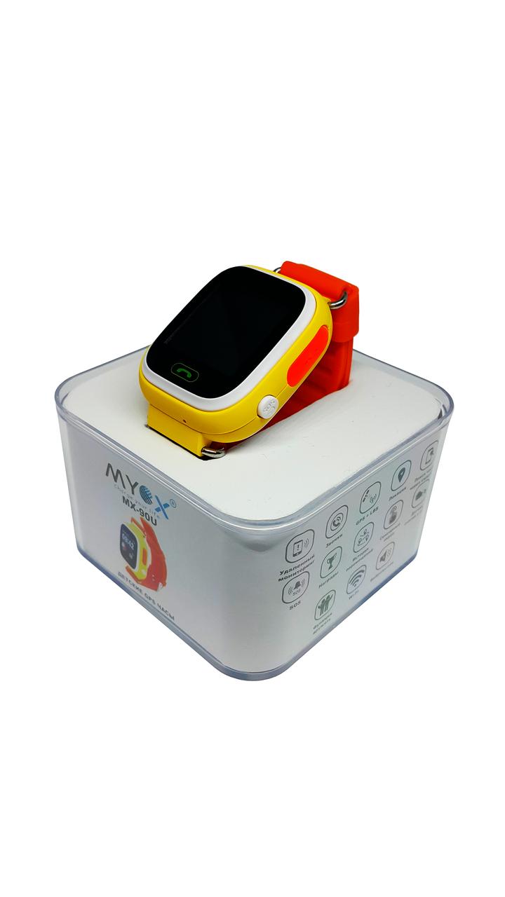 Детские смарт-часы с GPS MYOX MX-90U Оранжевые (SW-90O)