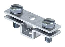 5032032 Тримач для плоских провідників, з кріпильним отвором Діаметром 6,5 мм, 831 30, OBO Bettermann (Німеччина)