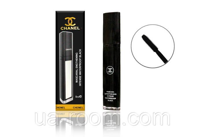Тушь для ресниц Chanel Mascara Lengthening Intense Waterproof (с зеркалом) 88-48, фото 2