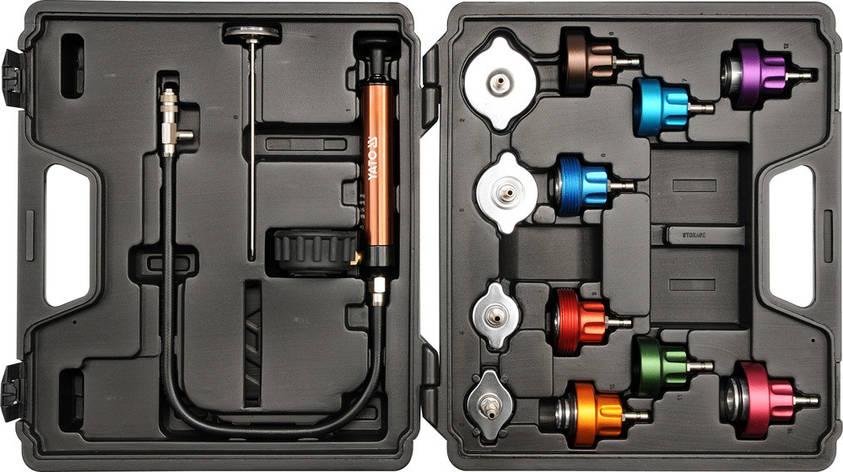 Диагностический набор к радиатору Yato YT-0672, фото 2