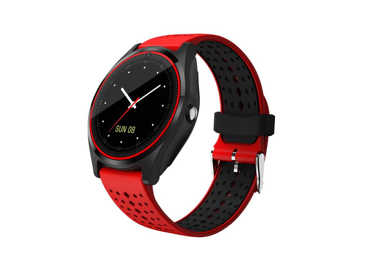 Умные часы Smart Watch UWatch V9 Red (hub_bgMn19150_my)