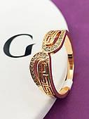 Кольцо женское позолота 18К. Медицинское золото