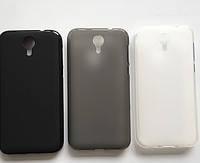 Силіконовий чохол для Venso Isprit U50 LTE чорний, фото 2