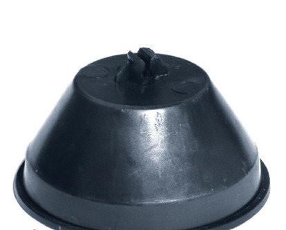 Держатель провода d8мм с бетоном d136х65мм вес 1,15 кг, круглый пластиковый DKC
