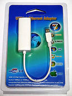 Сетевая карта Ethernet Lan microUSB 2.0 100m VK-88772A нов