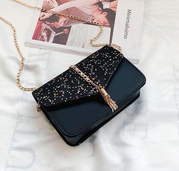 Женская сумка клатч Classik Feshen Черный