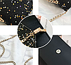 Женская сумка клатч Classik Feshen Черный, фото 3