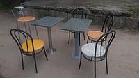 Столик гранитный для кафе б/у, стол для кафе, стол барный с гранитной столешницей б/у, гранитные столики б у.
