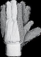 Защитные перчатки RN BEB х/б из тика с точечным покрытием Reis Польша