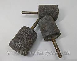 Головка шлифовальная цилиндрическая 35х40х6 14а - серый электрокорунд