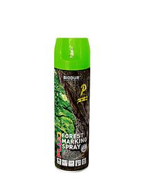 Эмаль Biodur Forest marking spray зеленая 500мл