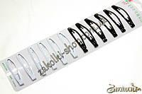 Заколки хлопушки(тик-так, кли клак) металлическая, качество очень хорошее, длина: 6 см, 1 лента (12 штук)