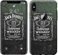 """Чехол на iPhone X Whiskey Jack Daniels """"822c-1050-12506"""""""