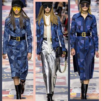 Яркая джинсовая одежда дома Dior на Paris Fashion Week. А какой деним тебе по вкусу?