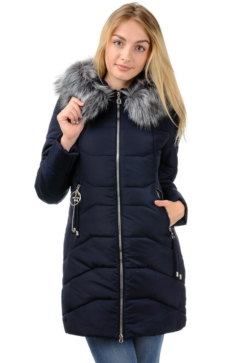 """Зимняя куртка """"Ева"""" черный"""