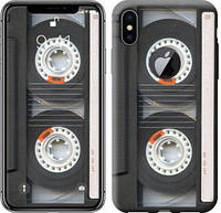 """Чехол на iPhone X Кассета """"876c-1050-12506"""""""