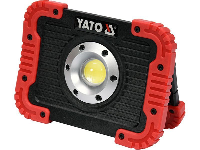 Світлодіодний акумуляторний ліхтар 10 Ват Yato YT-81820
