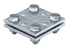 5314666 Хрестової з'єднувач DIN для плоских провідників, 256 A-DIN 40 FT, OBO Bettermann (Німеччина)