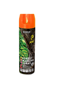 Эмаль Biodur Forest marking spray оранжевая 500мл