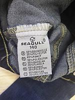Джинсовая куртка для девочек оптом, Seagull, 134-164 рр., арт. CSQ-89890, фото 4
