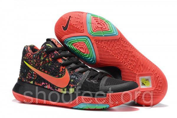 Мужские кроссовки Nike Kyrie Irving 3 Rojo Verde Negro