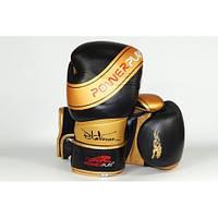 Боксерские перчатки PowerPlay 3023  Черный