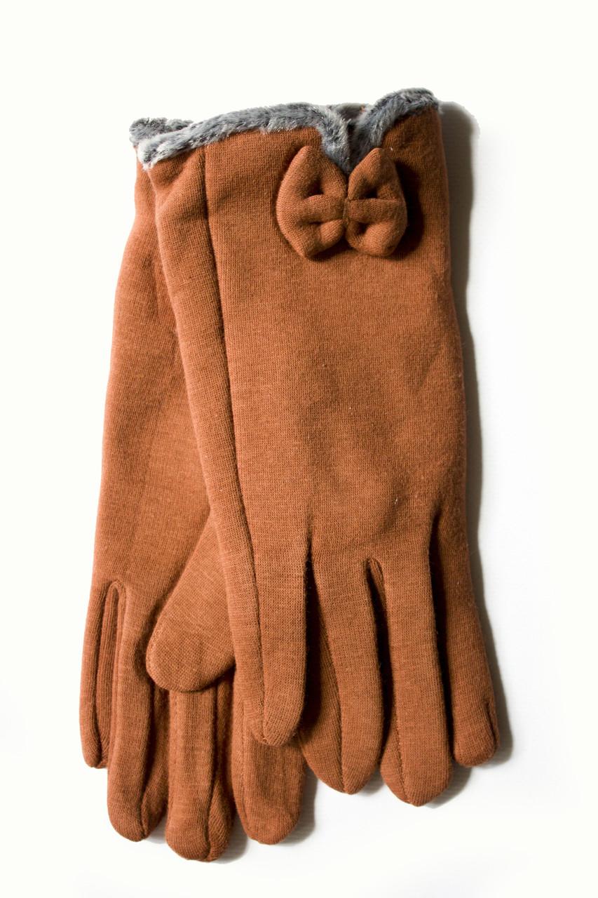 Женские стрейчевые перчатки 109