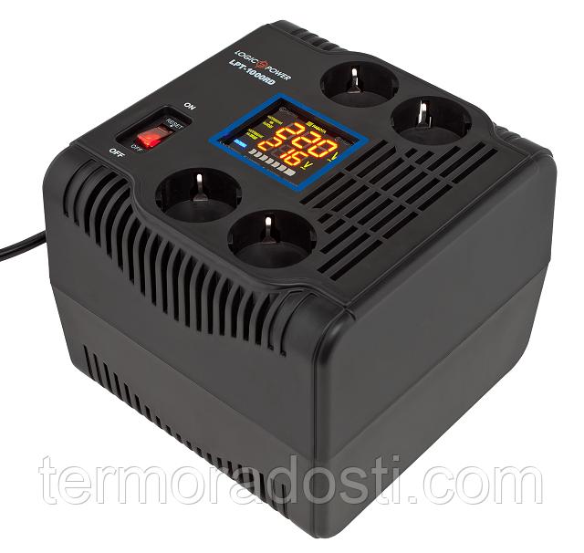 Релейный стабилизатор напряжения Logic Power LPT-1000RD (700Вт)