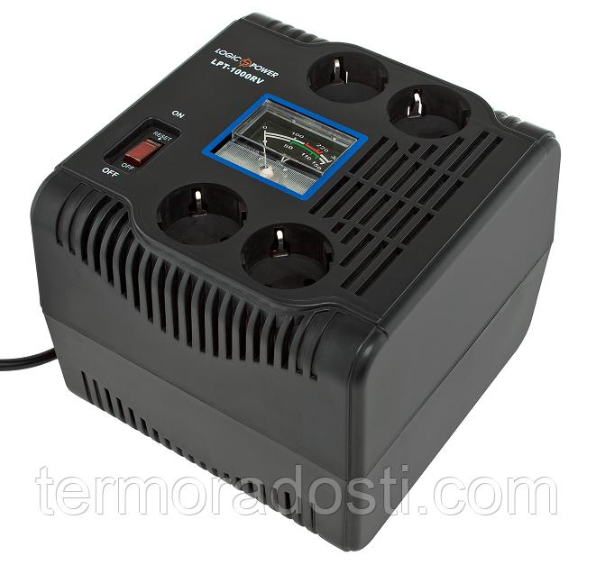 Релейный стабилизатор напряжения Logic Power LPT-1000RV (700Вт)