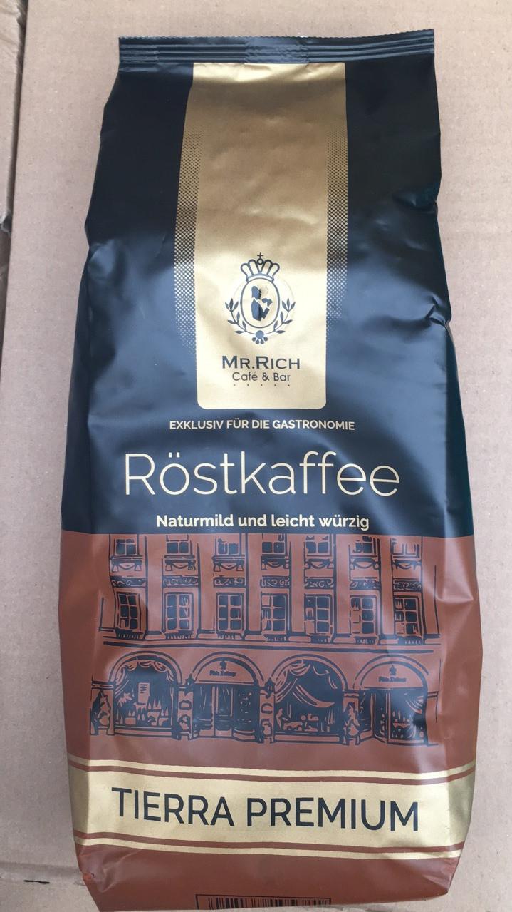 Кофе Mr. Rich Rostkaffee Tierra Premium в зернах 1 кг
