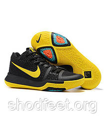 eb7c83ed Мужские кроссовки Nike Kyrie Irving 3 Black Yellow